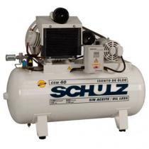 Compressor Isento de óleo Schulz CSW 40 120 Libras 420 Litros - Schulz
