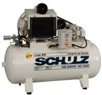 Compressor Isento de Óleo Schulz CSW60 420Lts 120Psi/8.4BAR 15cv 220/380v IP21 Trifasico (MTA) - Schulz
