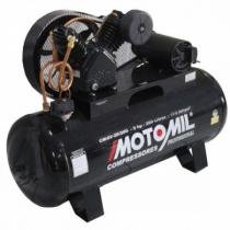 Compressor Motomil CMAV 20 200Lts 175Psi 12 BAR 5cv Trifásico - Motomil