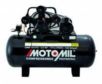 Compressor Motomil CMW 15 175Lts 140Psi 8.3BAR 3cv  Trifásico - Motomil