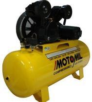 Compressor profissional 1 estágio 20 pés 5,0 hp 140 libras trifásica -CMV-20PL/200-MT - Motomil