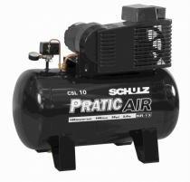 Compressor Schulz CSL 10 BR/AD 220V Trifásico Sobre base ar direto - Schulz
