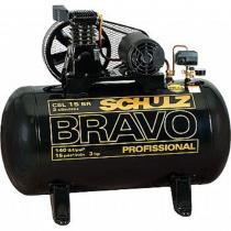 Compressor Schulz CSL 15 BR 100 Litros 3 cv Monofásico 140 Lbs - Schulz