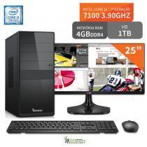 Computador 3green Select Intel Core I3 7100 4GB 1TB Monitor 25 ultrawide 25UM58-P FullHD - 3green technology