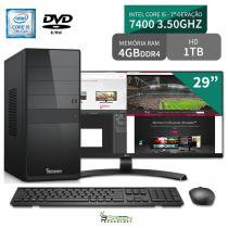 Computador 3green Select Intel Core I5 7400 4GB 1TB Dvd Monitor 29 ultrawide 29UM68 FullHD - 3green technology