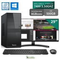 Computador 3green Select Intel Core I5 7400 8GB 500GB Windows 10 Monitor 29 ultrawide 29UM68 FullHD - 3green technology