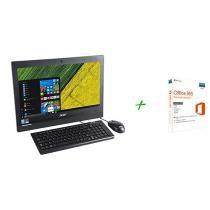 "Computador All in One Acer Aspire Z1 Intel Core i3 - 4GB 1TB LED 19,5""Windows 10 + Microsoft Office 365"