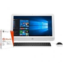 "Computador All in One HP 20-e001br Intel Dual Core - 2GB 500GB LED 19,45"" + Pacote Office 365"
