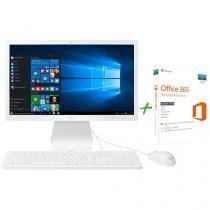 "Computador All in One LG 22V270 Intel Quad Core - 4GB 500GB 21,5"" Windows 10 + Microsoft Office 365"