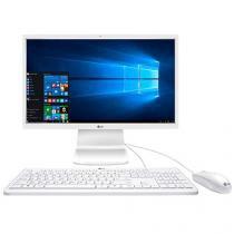 "Computador All in One LG Intel Pentium Quad Core - 4GB 500GB LCD 23,8"" Windows 10"