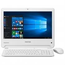 Computador All in One Union Intel Windows 10 Branco Positivo -
