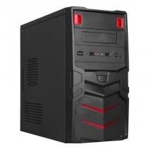 Computador CPU Standart AMD Dual Core A6  7470K 4GB RAM DDR3 HD 500GB  DVD Gabinete Black Piano - Francavirtual