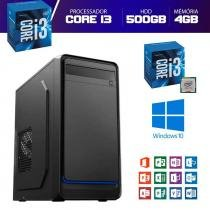 Computador Descktop  Intel Core i3 500GB HDD 4GB Memória - Yes shop