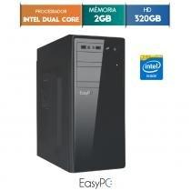 Computador Desktop EasyPC Intel Dual Core 2.41 2GB HD 320GB -