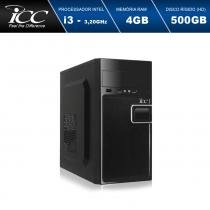 Computador Desktop ICC IV2341W Intel Core I3 3.10 ghz 4gb Hd 500GB Windows 10 -