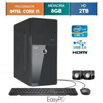 Computador EasyPC Intel Core I3 8GB 2TB -