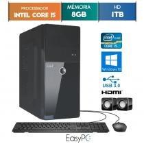 Computador EasyPC Intel Core I5 8GB 1TB Windows 10 -