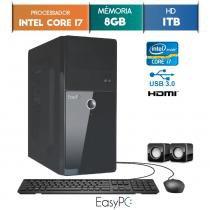 Computador EasyPC Intel Core I7 8GB 1TB -