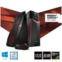 Computador Gamer ACER Aspire GX-783-BR13 I7-7700 16GB RAM 1TB HD Nvidia 1060GTX  6GB - DT.BADAL.003 -