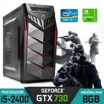 Computador Gamer G60 Intel Core i5, 8GB Ram, GT 730, 1TB, SSD 120GB, Windows 7 - Alfatec