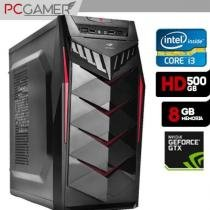 Computador Gamer Intel Core i3, 8GB Ram, HD 500, Geforce GT 1030 - Alfatec