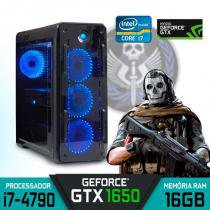 Computador Gamer Intel Core i7, GTX 1060 6GB, 16GB, SSD, HD 1TB - Alfatec