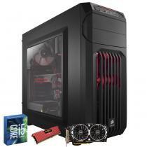 Computador Gamer MegaMamute GeForce GTX 1060 ARMOR OCV1 Corsair Punisher Core i5 8GB Carbide Spec 01 - Megamamute