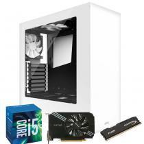 Computador Gamer MegaMamute GeForce GTX 950 2GB, Core i5, 8GB DDR3, 1TB HD, 430W, NZXT S340 Branco - Megamamute
