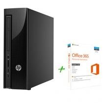 Computador HP 200 G1 Slim Tower Intel Celeron - 4GB 500GB Windows 10 + Office 365 Personal