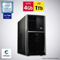 Computador Intel Core i3 7ª Geração 4GB HD 1TB Certo PC SMART 016 -