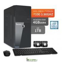 Computador intel core i3 7100 4gb ddr4 hd 1tb hdmi 3green evolution fun desktop - 3green technology