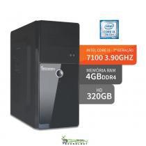 Computador intel core i3 7100 4gb ddr4 hd 320gb hdmi 3green evolution fun desktop - 3green technology