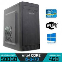Computador Intel Core I5 3470 3.2 Ghz, 4GB Ram, 500 HD, W7 C/ Wifi - Alfatec