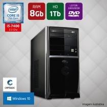 Computador Intel Core i5 7ª Geração 8GB HD 1TB DVD Windows 10 Certo PC SELECT 032 -