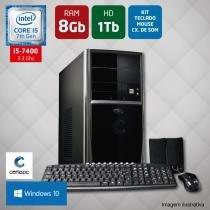 Computador Intel Core i5 7ª Geração 8GB HD 1TB Windows 10 Certo PC SELECT 033 -