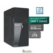 Computador intel core i5 7400 8gb ddr4 hd 2tb 3green triumph business desktop - 3green technology