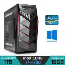 Computador Intel Core i7 4790 Quarta Geração, 16GB, HD 1TB - Alfatec