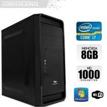 Computador Intel Core i7, 8GB Ram, HD 1TB, Windows - Alfatec