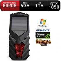 Computador Neologic Gamer Moba Box Octa Core Amd FX8320E,  Gtx 1050, 4Gb, 1Tb, Win 7 - Nli68675 -
