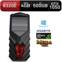 Computador Neologic Gamer Moba Box Octa Core Amd FX8320E,  Gtx 1050, 4Gb, 500Gb, Win 8 - Nli68653 -