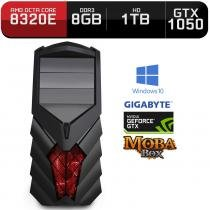 Computador Neologic Gamer Moba Box Octa Core Amd FX8320E,  Gtx 1050, 8Gb, 1Tb, Win10 - Nli68681 -