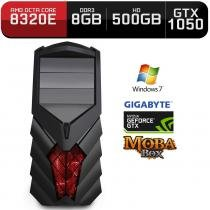 Computador Neologic Gamer Moba Box Octa Core Amd FX8320E,  Gtx 1050, 8Gb, 500Gb, Win 7 - Nli68671 -