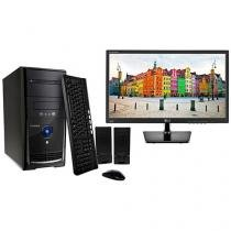"Computador PC Mix L3300 Intel Dual Core - 4GB 1TB Linux + Monitor LG LED 19,5"" Widescreen"