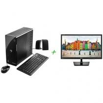 "Computador Positivo Stilo DS7667 Intel Core i3 - 4GB 1TB Windows 10 + Monitor LG LED 19,5""Widescren"