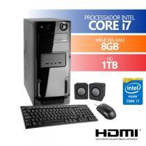 Computador Premium Business Intel Core I7 8Gb Ddr3 Hd 1Tb  Kit ( Mouse,Teclado,Caixa ) - PREMIUM
