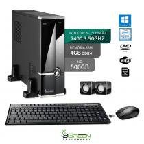 Computador Slim Intel Core I5 7400 4Gb 500Gb Windows 10 Dvd 3Green New - 3green technology