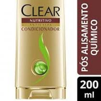 Condicionador Anticaspa CLEAR Fusão Herbal Pós Alisamento 200ML -