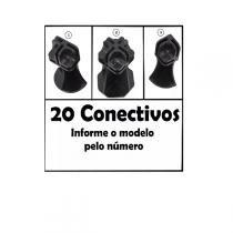 Conectivo Pé 03 Modelos Balcão De Vidro E Aramado 20 Un - Dubrasil