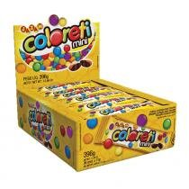 Confeito de Chocolate Mini Coloreti 36x11g - Jazam -