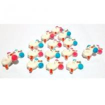 d8b9951119a3d Confeitos de Açúcar Cegonha Azul 8 unidades - Festabox